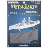USS Arizona Metal Earth 3D Model Kit